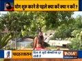 Swami Ramdev showcases simple steps to do Mandukasna