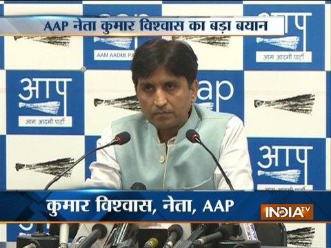 AAP leader Kumar Vishwas talks of return of Prashant Bhushan, Yogendra Yadav to the party