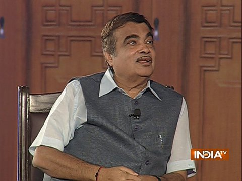Nitin Gadkari in Aap Ki Adalat: Attempting to completely relieve Delhi of pollution in time-bound manner