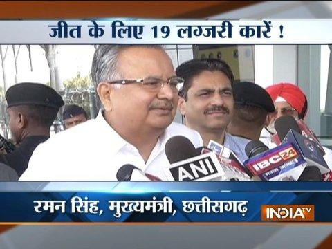 Chhattisgarh: CM Raman Singh buys 19 luxury cars with number 004