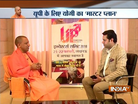 CM Yogi Adityanath opens up on development and other issues ahead of investors summit