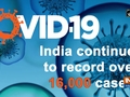 COVID: India continues to record over 16,000 cases