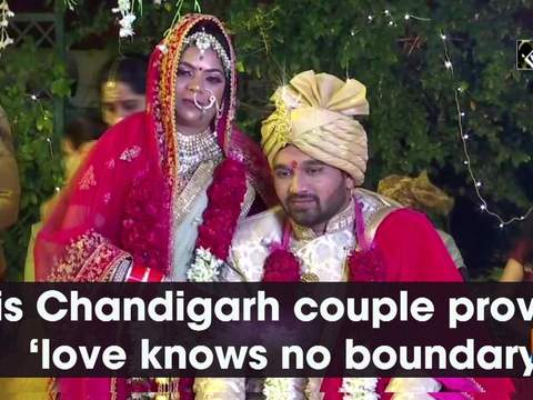 This Chandigarh couple proves 'love knows no boundary'