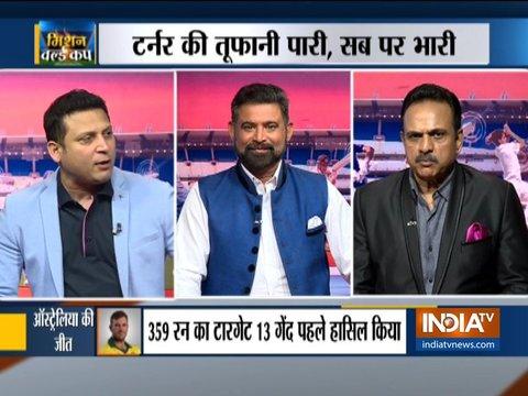 Why did India lose against Australia in Mohali despite scoring 350 plus?