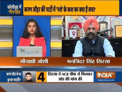 Manjinder Singh Sirsa files fresh complaint to NCB against Karan Johar's alleged 'drug party'