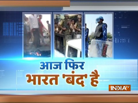Clash between two groups in Bihar's Arrah during protests against caste-based reservations