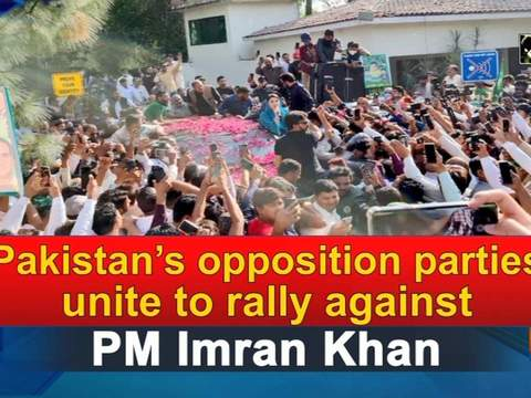 Pakistan's opposition parties unite to rally against PM Imran Khan