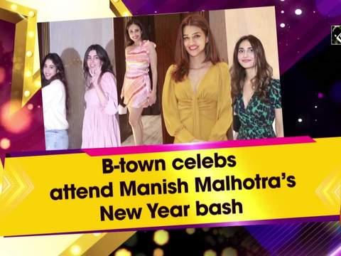 B-town celebs attend Manish Malhotra's New Year bash
