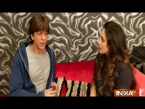 Shah Rukh Khan shares his 'hichki' moment with Rani Mukerji