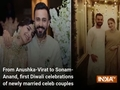 From Anushka-Virat to Sonam-Anand, first Diwali celebrations of newly married celeb couples