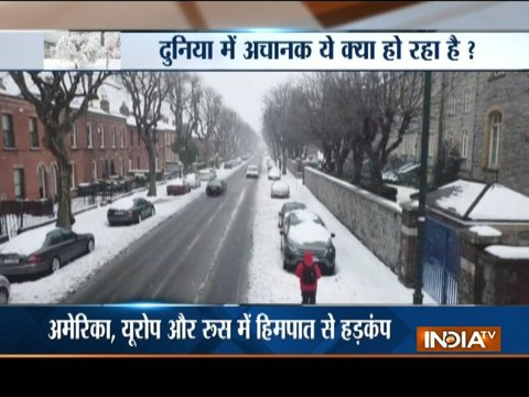 Aaj Ka Viral: New York and New Jersey declare state of emergency as snow forces flight cancellations