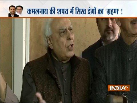 कांग्रेस ने सज्जन कुमार को टिकट नहीं दिया न उनके पास कोई पद है: कपिल सिब्बल