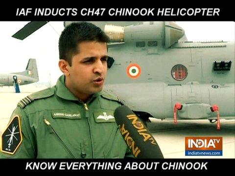 भारतीय वायुसेना में शामिल हुए शिनूक हेलीकॉप्टर, जानें क्यों हैं खास