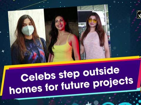 Celebs step outside homes for future projects