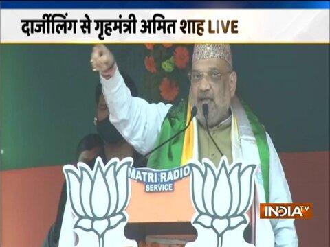 बंगाल चुनाव 2021 | दार्जिलिंग में अपनी रैली के दौरान अमित शाह ने गोरखाओं की प्रशंसा की