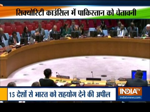 Big diplomatic victory for India, UNSC condemns Pulwama terror attack, names Pak-based Jaish-e-Mohammed