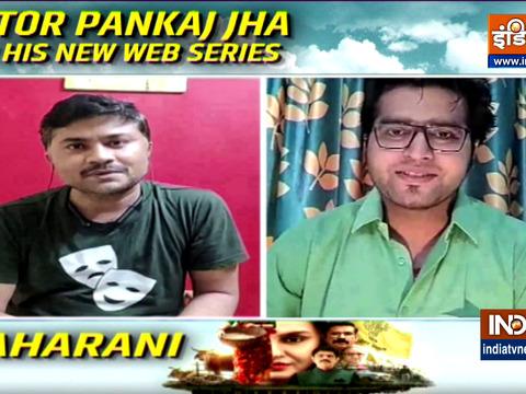 Actor Pankaj Jha talks about his new web series 'Maharani'