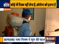 Exclusive: Ahmedabad civic staff fumigating homes of Indians returning from US