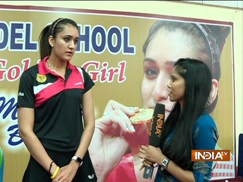 India Tv Exclusive: I follow No-phone policY during games- Manika Batra