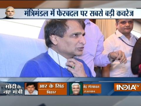 Suresh Prabhu leaves railway ministry, thank all the workers for their support