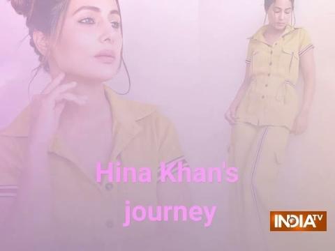 Hina Khan's journey