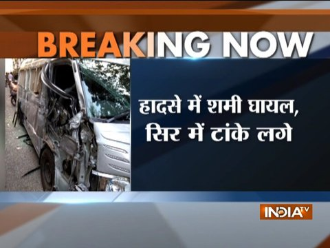 Mohammed Shami injured in road accident while coming from Dehradun to New Delhi