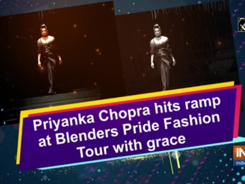 Priyanka Chopra hits ramp at Blenders Pride Fashion Tour with grace