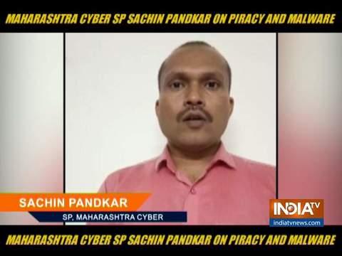 महाराष्ट्र साइबर एसपी ने लोगों से आग्रह किया है कि वे पायरेटेड वेबसाइटों से फिल्में और वेब सीरीज डाउनलोड न करें