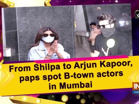 From Bhumi to Arjun Kapoor, paps spot B-town actors in Mumbai