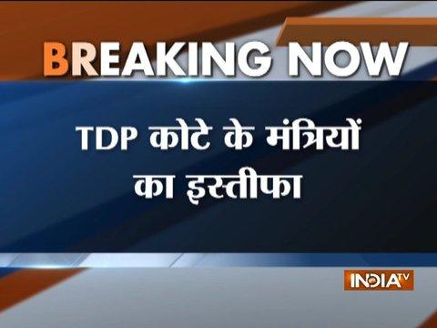 Andhra Pradesh: TDP ministers Ashok Gajapathi Raju, YS Chowdary resign from Modi govt