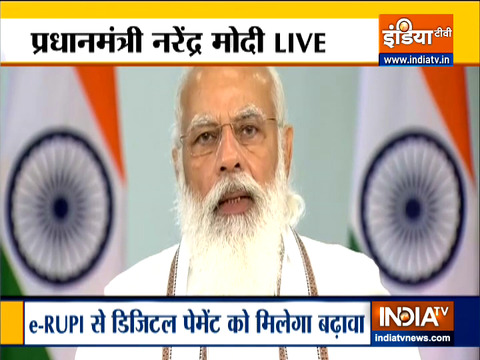 PM Modi launches e-RUPI digital payment platform