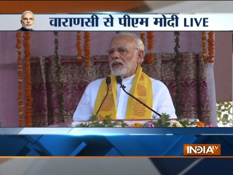 Happy to inaugurate development projects in Varanasi, says PM Modi
