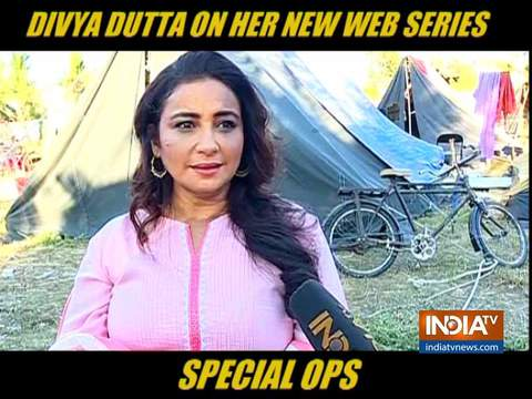 Divya Dutta opens up on playing riots victim in Special Ops