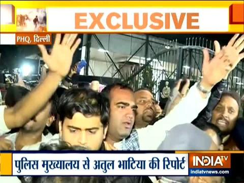 JNU students protest in solidarity with Jamia students