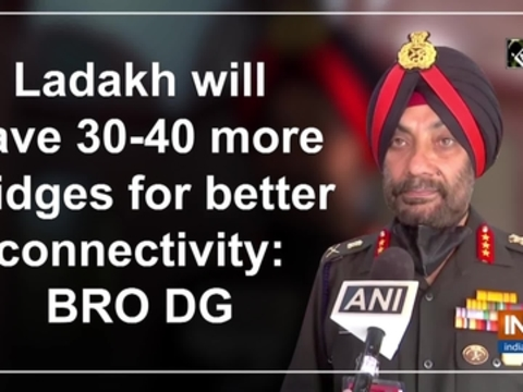 Ladakh will have 30-40 more bridges for better connectivity: BRO DG