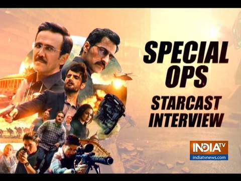 Vipul Gupta and Sajjad Delafrooz talks about web series Special Ops
