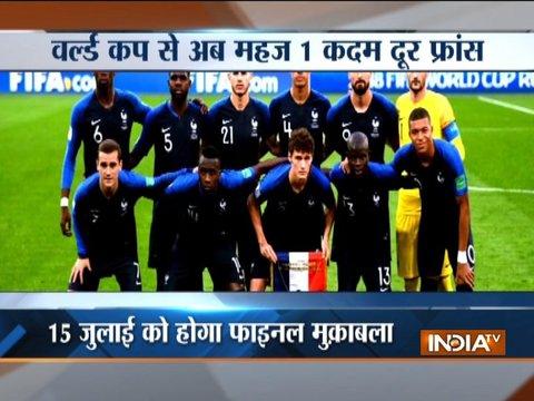 FIFA World Cup 2018: France beat Belgium 1-0 to enter final