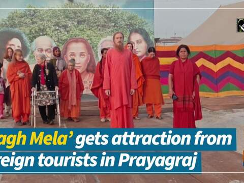 'Magh Mela' gets attraction from foreign tourists in Prayagraj
