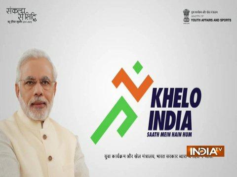 Rajyavardhan Rathore launches 'Khelo India' Anthem