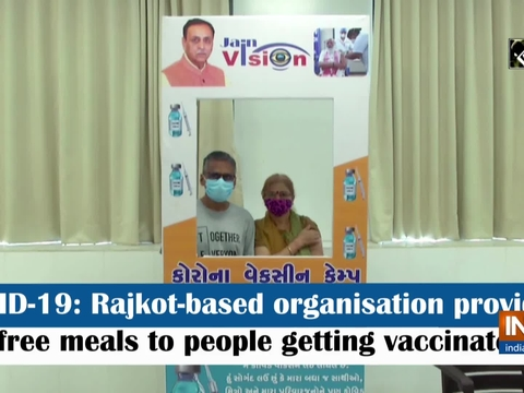 COVID-19: Rajkot-based organisation providing free meals to people getting vaccinated