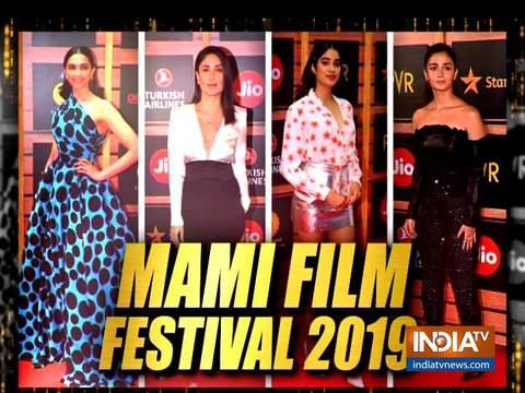 'मामी फिल्म फेस्टिवल' में बॉलीवुड एक्ट्रेस ने बिखेरे जलवे