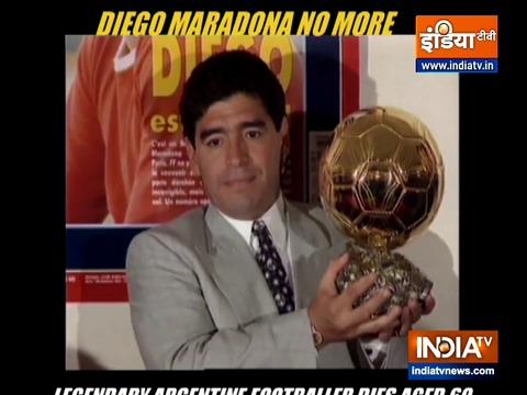 Diego Maradona No More: Legendary Argentine footballer dies aged 60