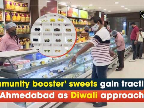 'Immunity booster' sweets gain traction in Ahmedabad as Diwali approaches