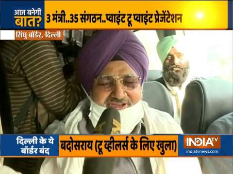 Farmers leave from Singhu border to hold talks with Centre, Capt Amarinder to meet Amit Shah