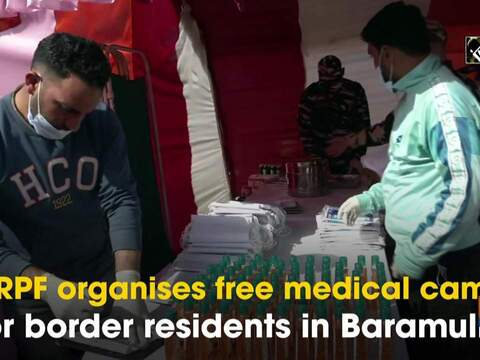 CRPF organises free medical camp for border residents in Baramulla