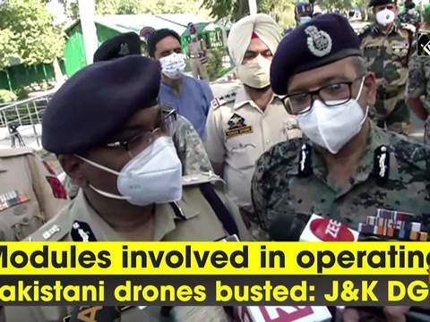 Modules involved in operating Pakistani drones busted: J-K DGP