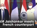 EAM Jaishankar meets his French counterpart