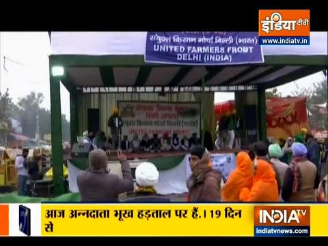 AAP Ministers and MLAs hold 'hunger strike' in support of farmers