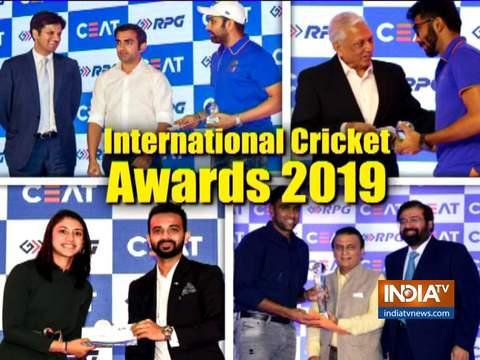 CEAT Awards: विराट कोहली बने सर्वश्रेष्ठ इंटरनेशनल खिलाड़ी, बुमराह ने जीता सर्वश्रेष्ठ गेंदबाज का खिताब