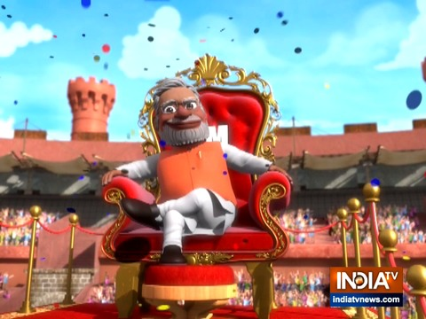OMG: Opposition wiped-out as Narendra Modi all set to take over as Prime Minister for another term